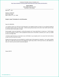 Contract Termination Letter Sample Elegant Lease Contract