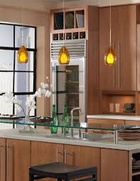 green glass top combine yellow glass pendant lights pendant lights kitchen islands design ideas kitchen modern kitchen idea brown wooden kitchen cabinet