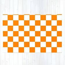 checker orange white rug by 10813apparel society6 orange and white rug orange and white chevron rug