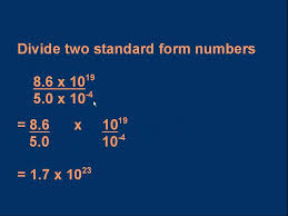 standard form physics gce a level physics g4 standard form 3 of 3 youtube