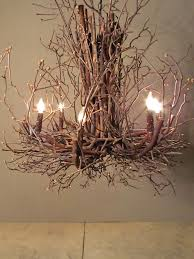 branch chandelier lighting. diy ideas with twigs or tree branches twig chandelier chandeliers and lights branch lighting n