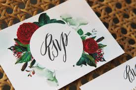 marsala love ruby red invitations by sail and swan Calligraphy Wedding Invitations Australia marsala red mulberry floral vintage botanical wedding invitations save the dates calligraphy modern chic glam rose Wedding Calligraphy Envelopes