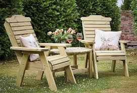 masham companion garden seats and table