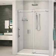 frameless sliding shower door hardware. Image Is Loading Frameless-Sliding-Shower-Door-Hardware-Track-Kit-8- Frameless Sliding Shower Door Hardware R