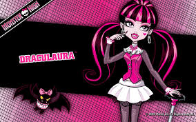 monster high fond d écran possibly containing animé called draculaura fond d écran 1280x800