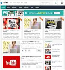 Blogger Templates 2020 15 Best Amp Blogger Template 2020 Seo Friendly Speed