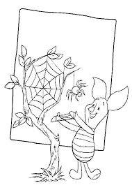 De Spin Die Het Te Druk Had Kleurplaat Kleurplaten En Zo Kleurplaten