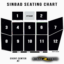 Rivers Casino Event Center Seating Chart Tickets For Sinbad Live At Rivers Casino Pittsburgh In