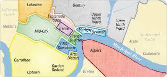 garden district new orleans walking tour map. Garden District New Orleans Walking Tour Map .