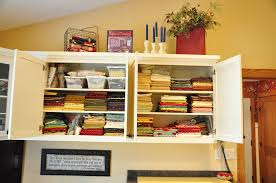 Sewing Room Storage Cabinets Sewing Room Ideas Continued Trends And Traditions