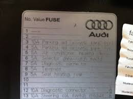 can connections audi forums 2017 A4 2.0T Quattro at Footwell Fuse Box A4 2017
