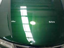 car polish before and after. car polish before and after .