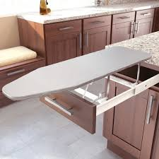Drawer Mount Pull-Out Ironing Board White (#9000 0120)