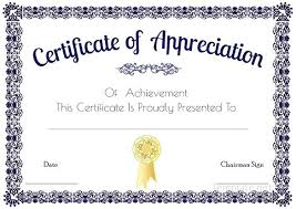 Certificate Of Appreciation Template For Word Unique Word Certificate Of Appreciation Template Buildingcontractorco