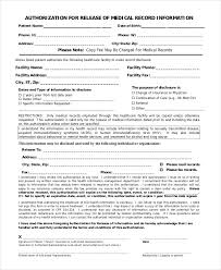 Sample Medical Records Release Form Classy Free Printable Medical Release Form Heartimpulsarco