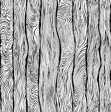 Wood Pattern Unique Hand Drawn Seamless Pattern Of Wood Texture Stock Vector Colourbox