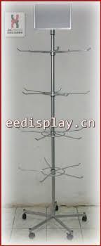 Hanging Stands Displays Simple Socks Display Rack Flooring Display Rack With 32 Tiers Retail