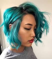 Teal Bob   Teal hair color, Teal hair dye, Teal hair