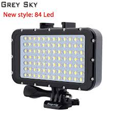 Go Pro 30m Diving LED Flash Light Underwater lamp (<b>2x</b> GoPro 4 ...