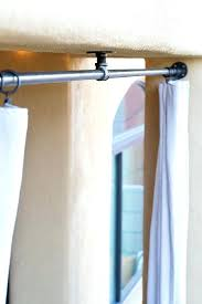 diy outdoor curtain rod porch curtains drop cloth pixels diy outdoor shower curtain rod diy outdoor
