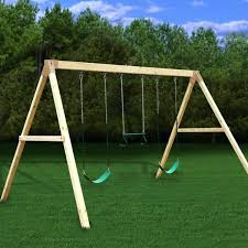 wooden swing sets with also set for small backyard outdoor and slide slides how anchors swing set anchors