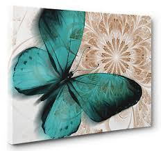 unique abstract green butterfly canvas wall art print blue brown floral wall art picture print on on blue and white canvas wall art with wall art sample ideas butterfly canvas wall art butterfly oil