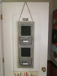 office door mail holder. Love This Rustic Mail Center Office Door Holder L