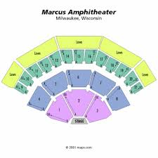 Marcus Amphitheater Seating Chart