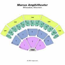 Summerfest 2018 Seating Chart Bathroom 2018 Marcus Amphitheater Map