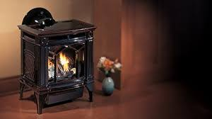 Image Vermont Castings H15 Gas Stove In Timberline Brown Finish Regency Fireplace Products Gas Stoves Regency Fireplace Products