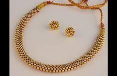 beautiful types of traditional and contemporary indian gold jewellery goldjewellerydesign goldjewelleryindian contemporarygoldjewellery kerala