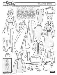 Small Picture Miss Missy Paper Dolls vintage Barbie Drawing Guide Portfolio