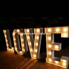 Giant Light Up Letters Free Standing Outdoor Indoor Wedding Events Party Decorative Metal Giant Light Up Letter Buy Giant Light Up Letter Outdoor Light Up Letters Metal