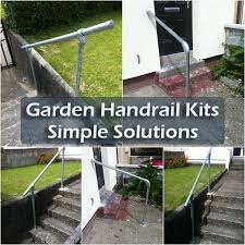 simple handrail for steps