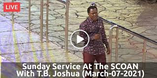 Looking for online definition of scoan or what scoan stands for? Watch T B Joshua March 07 2021 Live Sunday Service At The Scoan