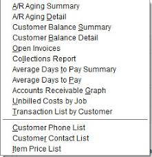 Ar Aging Reports Track Your Customers And Receivables Using Quickbooks Reports