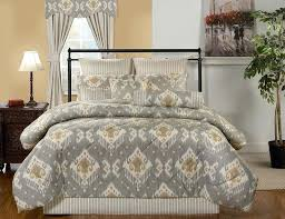 gray and tan bedding from victor mill is a contemporary bedding pattern items including comforter sets