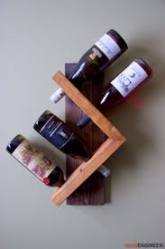 Simple Wine Rack Plan from Rogue Engineer
