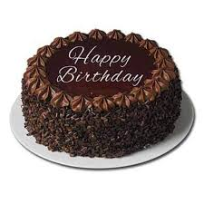 Eggless Happy Birthday Truffle Cake 1 Kg At Rs 1195 One Cake