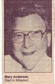 """Miss Mary Aletha """"Andy"""" Anderson (1916-1989) - Find A Grave Memorial"""