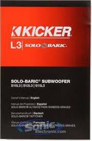 kicker 11s12l32 11s12l3 2 12 dual 2 ohm solo baric l3 subwoofer product kicker solo baric s12l32 11s12l32
