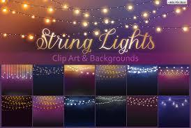 String Lights Fonts