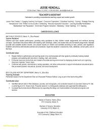 12 13 Sample Resumes For Teachers Assistant Ripenorthpark