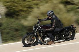 triumph bonneville bobber 2017 first ride and review