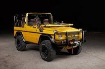 Mercedes g wagon 18 black rhino alloy wheels offroad mud terrain tyres alloys. Mercedes Benz Gelandewagen For Sale Hemmings Motor News
