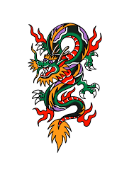 Dragon Art Tattoos Designs American Traditional Dragon Tattoo Traditional Tattoo