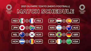 MATCH SCHEDULE OLYMPICS TOKYO 2021 ...