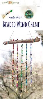 How To Make Wind Chimes Add Sparkle To The Garden With This Beautiful Beaded Wind Chime