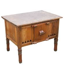 Antique Kitchen Work Tables Rustic Antique Kitchen Work Table Ebth
