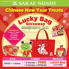 Small Picture Sakae Sushi Chinese New Year Treats